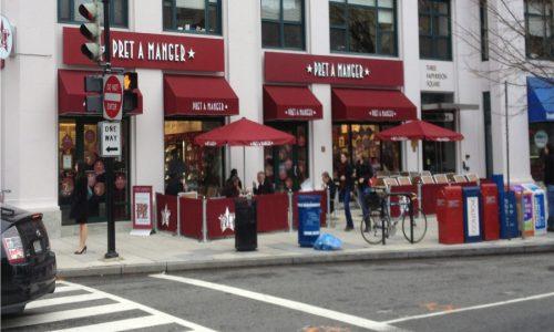 Sidewalk Barriers | Branded Cafe Barriers | Sidewalk Cafe Barricades |(16)