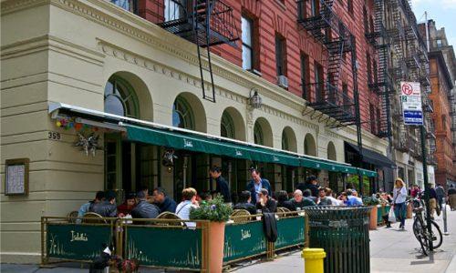 Sidewalk Barriers | Branded Cafe Barriers | Sidewalk Cafe Barricades |(4)