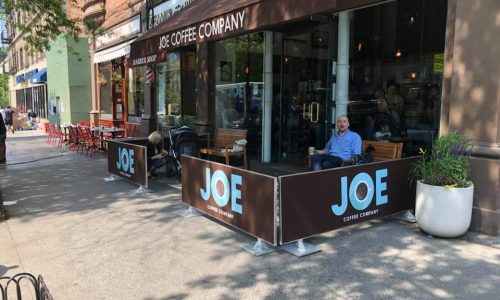 Sidewalk Cafe Barriers | New York City Signs & Awnings | Style B (1)